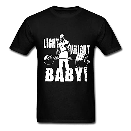 54f76895a Image Unavailable. Image not available for. Color: Yamoon Men's Funny  Ronnie Coleman Deadlift Cool T Shirts