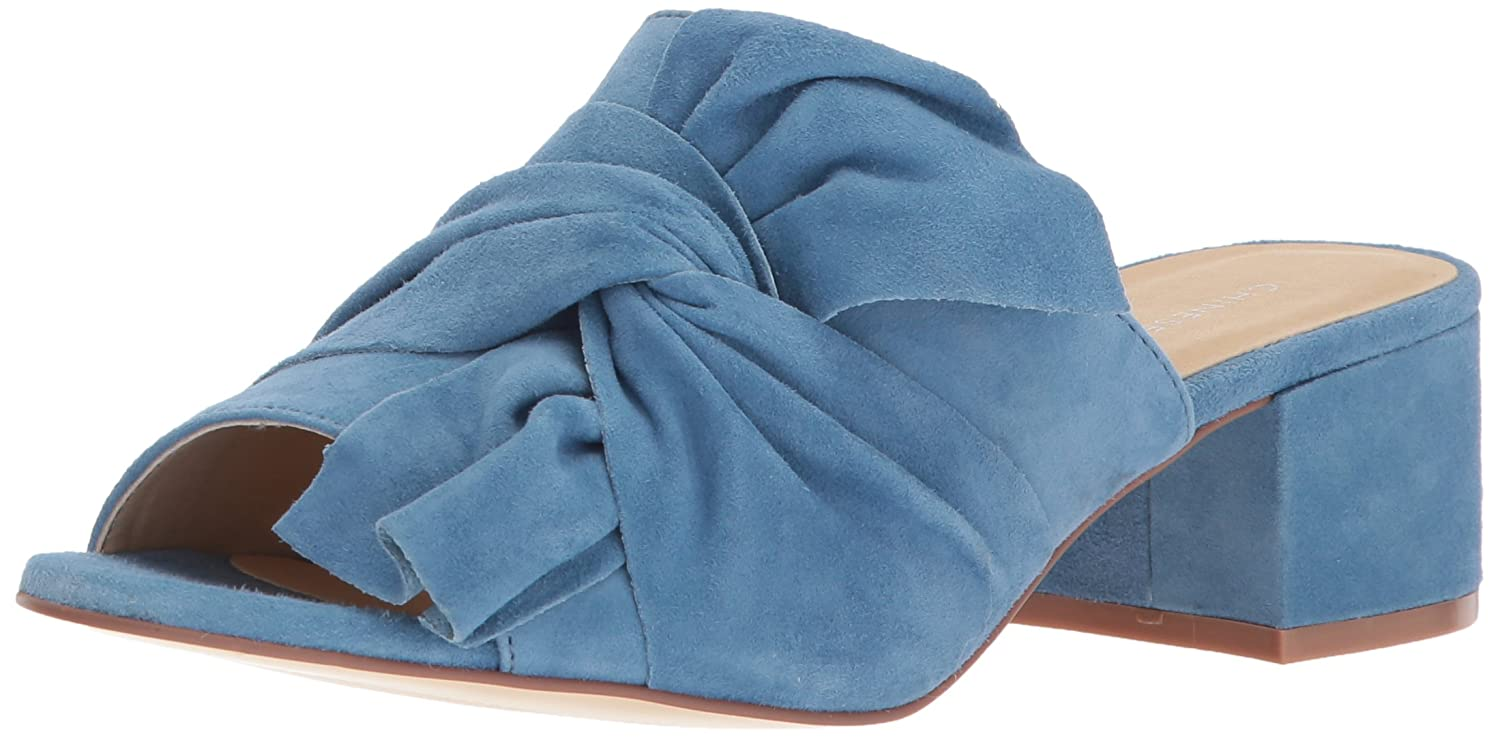 Chinese Laundry Women's Marlowe Slide Sandal B076VKBRVB 9 B(M) US|Blue Suede