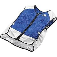 TechKewl Hybrid Cooling Vest Blue X-Small