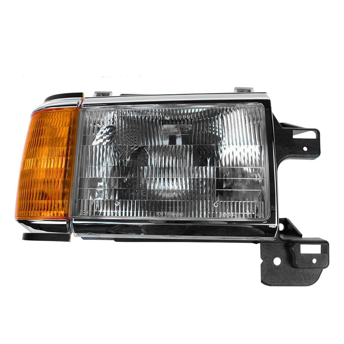 Fleetwood Bounder 1997-1999 RV Motorhome Pair (Left & Right) Replacement Front Headlights & Signal Lights by BuyRVlights (Image #4)
