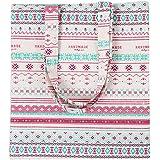 Bolsa de Mano de Compra para Mujer Tela Simple Varios Colores