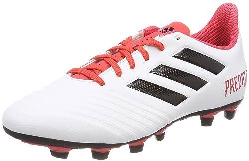size 40 74107 27d54 adidas Predator 18.4 FxG, Scarpe da Calcio Uomo, Bianco WeißKorall, 40