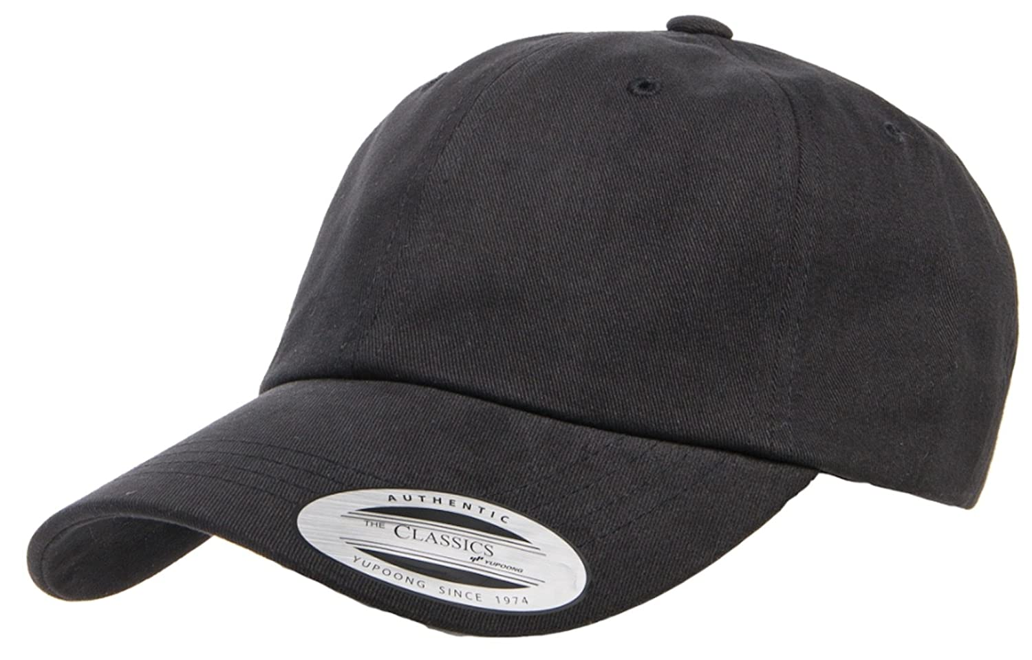 8d39c6aa4ca96 Amazon.com  Yupoong Peached Cotton Twill Dad Cap