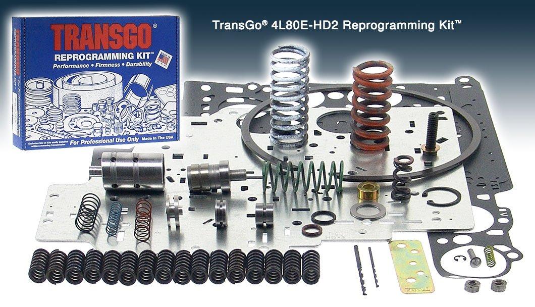 Transgo 4L80EHD2 Reprogramming Kit, HP HD