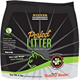 Perfect Litter Cat Litter, 100% Natural, Ultra Light, Premium Clumping, Odor Controlling Kitty Litter, 99.9% Dust Free Cat Litter and 24/7 Cat Wellness Monitoring