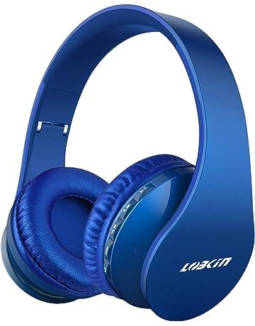 LOBKIN Cuffie Bluetooth Senza Fili Cuffia Wireless Pieghevole con  Microfono 806860b6a2d4