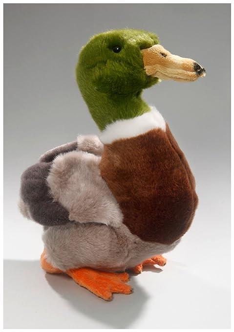Mallard Duck 8.5 inches, 22cm, Plush Toy, Soft Toy, Stuffed Animal 3336