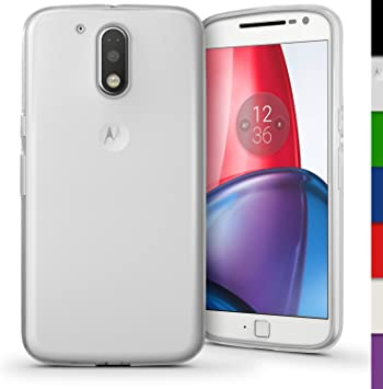 iGadgitz u5382 Funda TPU Compatible con Motorola Moto G 4 a ...