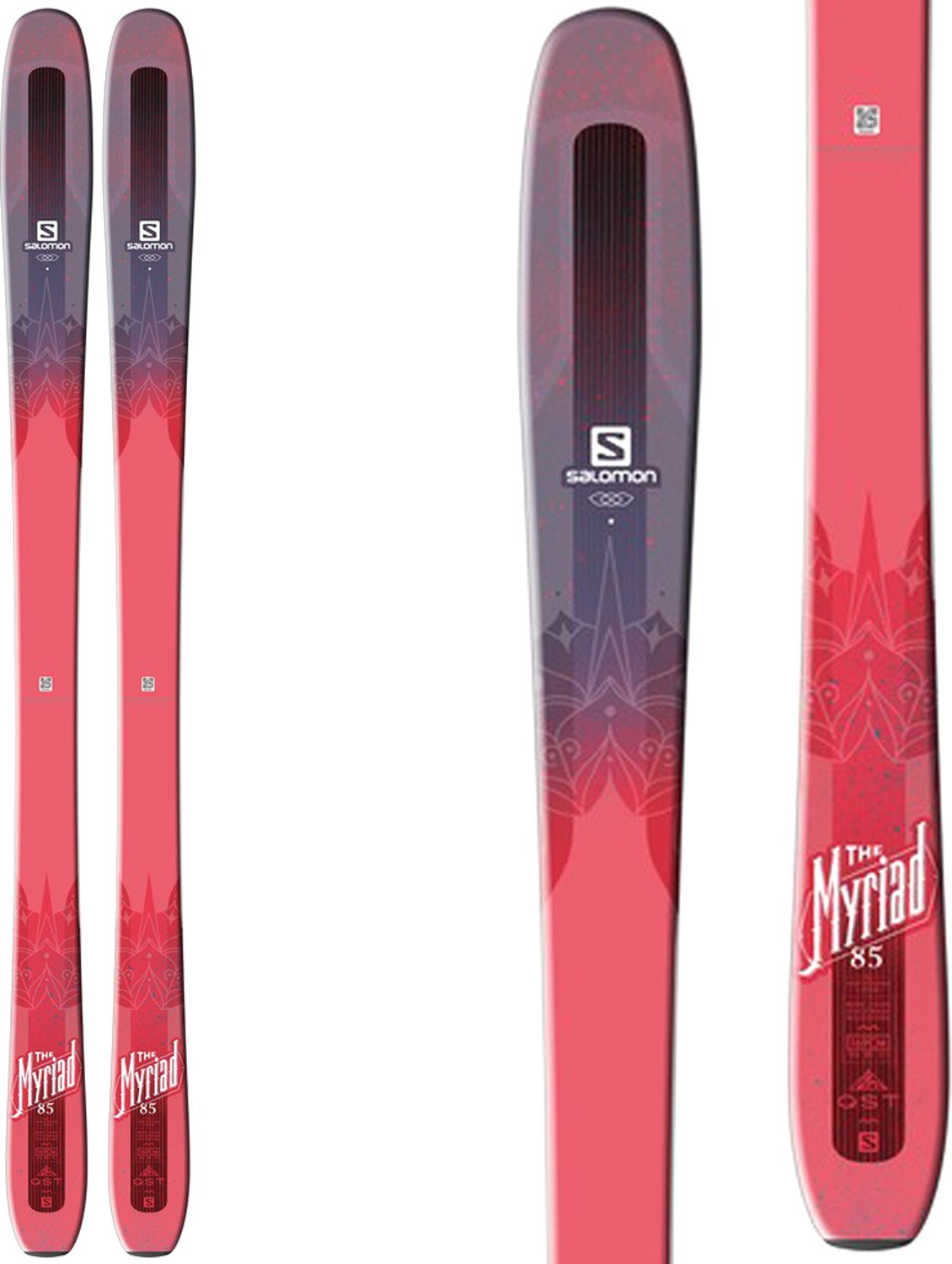 Salomon QST Myriad 85 Ski Womens