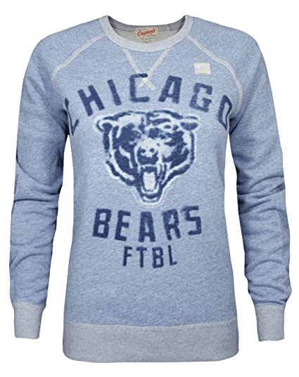 new products 74c8b f2f19 Amazon.com: Junk Food NFL Chicago Bears Women's Sweatshirt ...