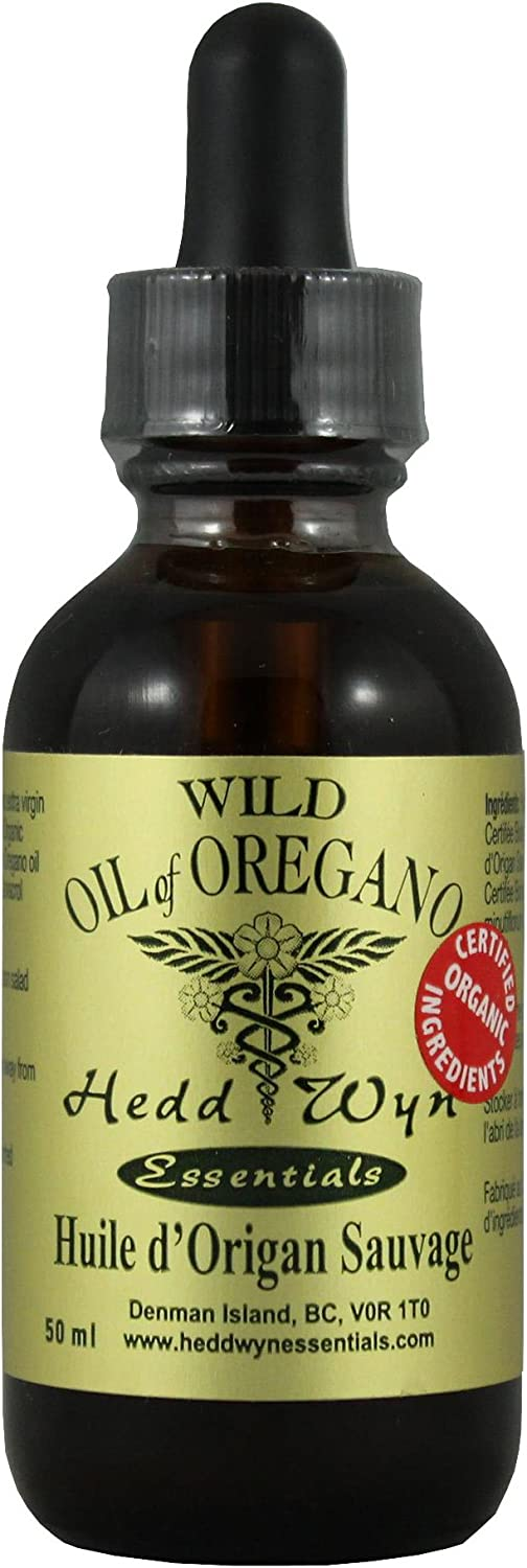 Hedd Wyn Wild Oil of Oregano, 50 ml
