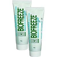 2 x Biofreeze Pain Relieving Gel with Ilex - 118ml / 4oz Tube
