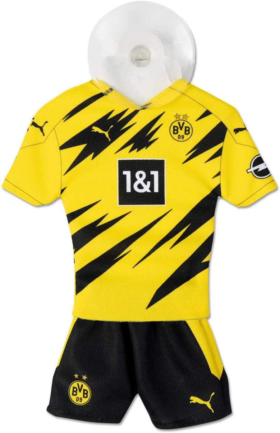 Auto Trikot Mini-Kit Mini Streifen Borussia Mönchengladbach Fohlenelf #1 NEU*OVP