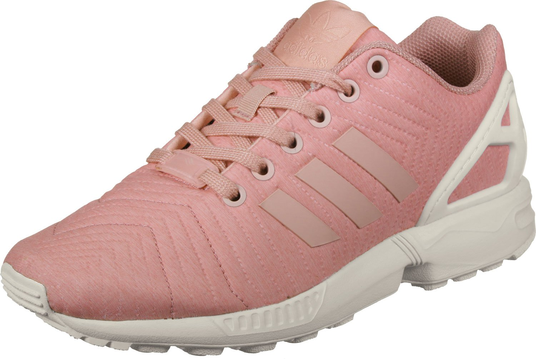 adidas Damen ZX Flux W Laufschuhe  38 EU|Mehrfarbig (Trace Pink F17/Trace Pink F17/Off White)