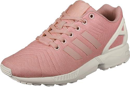 online retailer bb38c b8407 adidas ZX Flux W Scarpe da Corsa Donna, Multicolore (Trace F17 Trace Pink