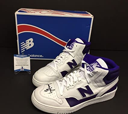 dc3ff265ab0f Image Unavailable. Image not available for. Color  James Worthy Signed New  Balance Shoes ...