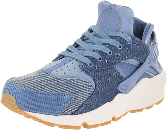 online store details for high quality NIKE Femme Air Huarache Run Se Running Shoe 5 US Sky Décembre/Or ...
