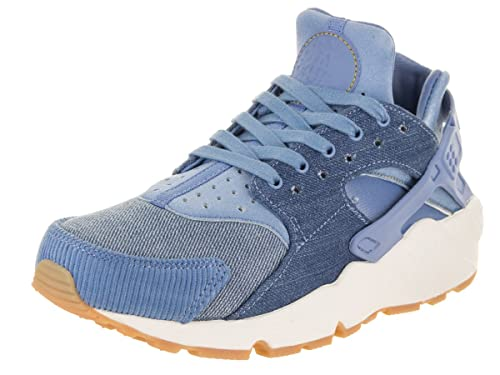 promo code b313e 64c5e Nike Women s Air Huarache Run SE December Sky Gold Dart Sail Running Shoe 5  Women US  Amazon.in  Shoes   Handbags
