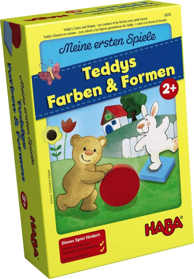 Haba 5878 - Meine ersten Spiele Teddys Farben und Formen ...