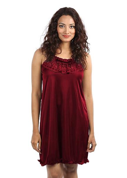 Klamotten Women s Nightwear (Kn77 Maroon Free Size)  Amazon.in  Clothing    Accessories ea451b5ad