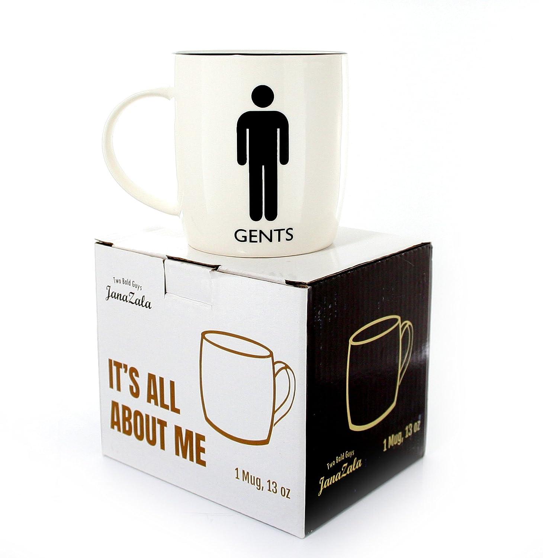 Janazala Funny Men Toilet Sign Coffee Mug For Him Gift Husband Dad Grandpa Boyfriend Brother Birthday Gifts Ceramic 380 ML Amazoncouk