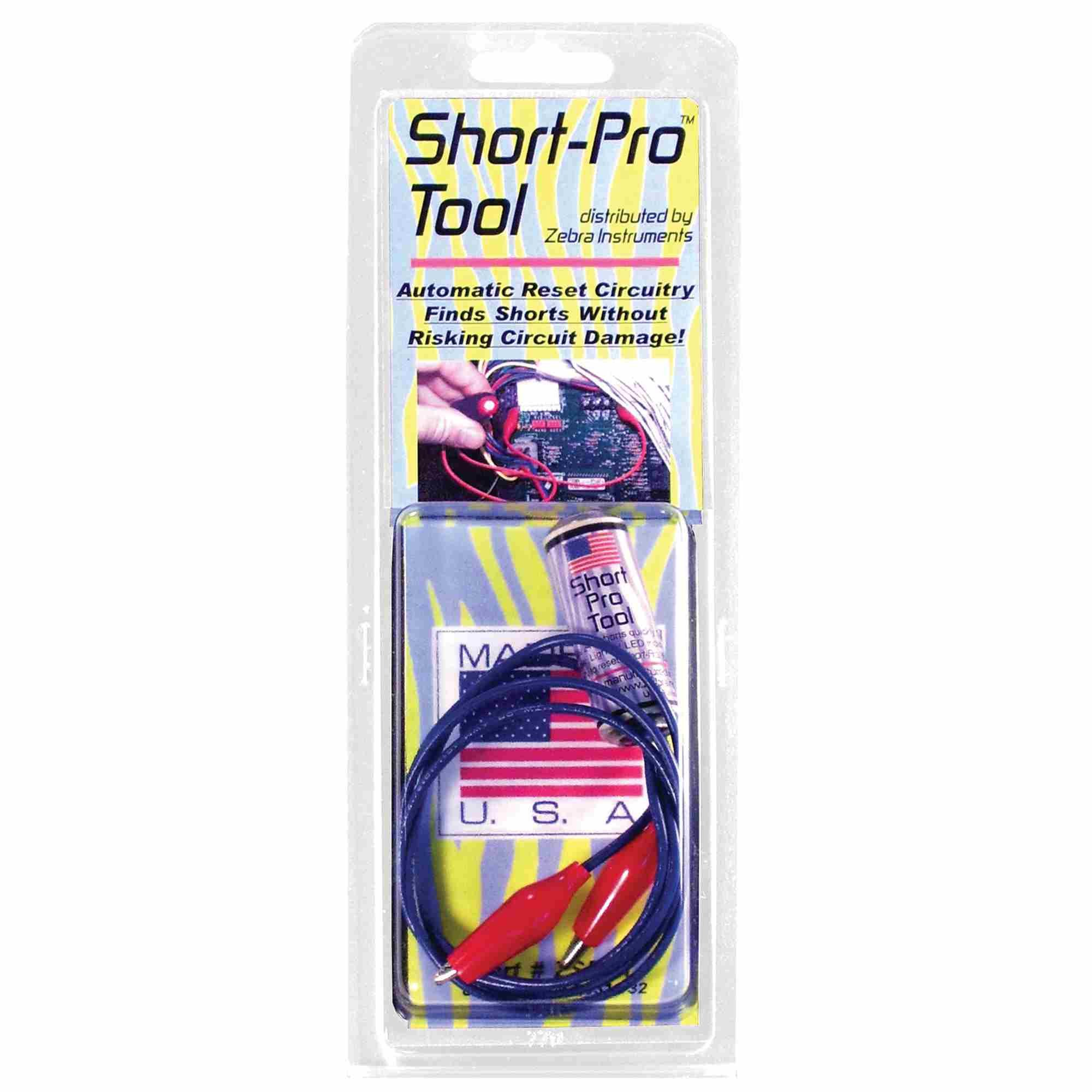 Short Pro Tool # GSPRT/ZSPRT Used to Quickly Locate Shorts in 24 VAC Circuits