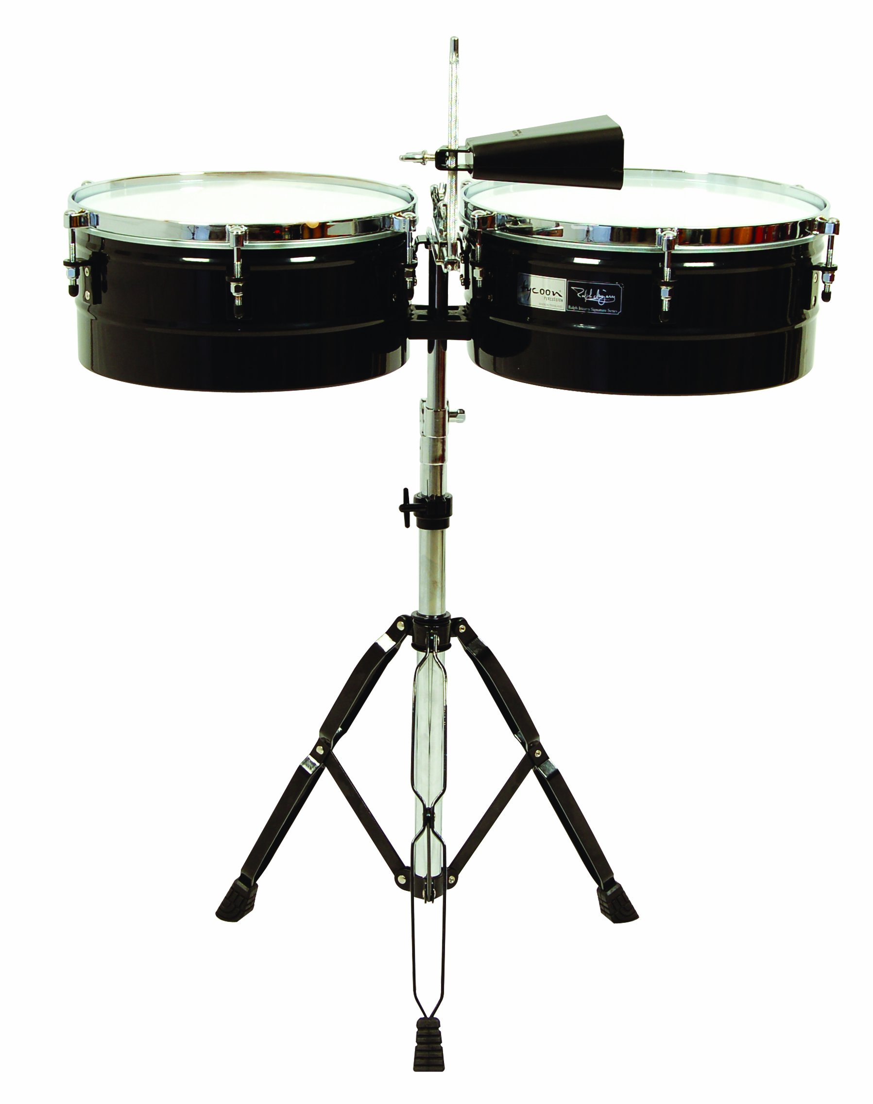 Tycoon Percussion 14 Inch & 15 Inch Ralph Irizarry Signature Series Timbales by Tycoon Percussion