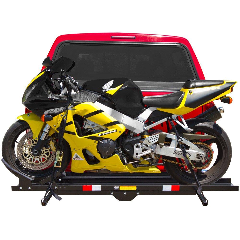 Black Widow MCC-600 Heavy-Duty Steel Motorcycle Carrier by Black Widow
