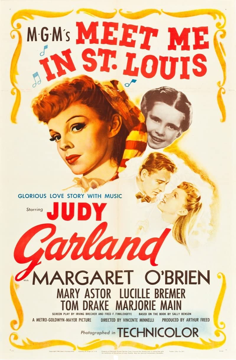 Meet Me In St. Louis (1944) Original Movie Poster at Amazon's Entertainment  Collectibles Store