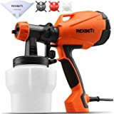 REXBETI Ultimate-750 Paint Sprayer, High Power HVLP Home Electric Spray Gun, Lightweight, Easy Spraying and Cleaning, 5…