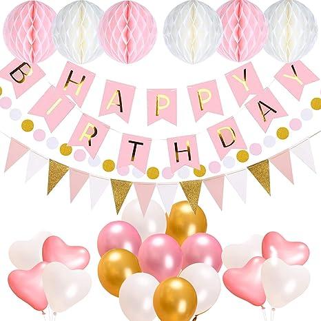 Geburtstagsdeko Acelife Geburtstag Party Dekorationen Set Für