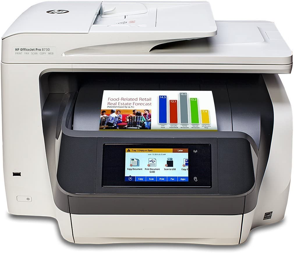 HP Officejet Pro 8730 D9L20A Wireless – Wireless Printer With Double Sided Scanning