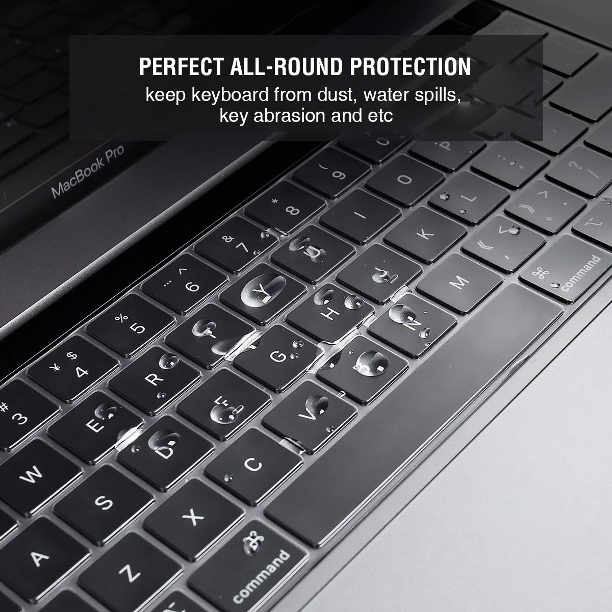 Apple keyboard with touch idle