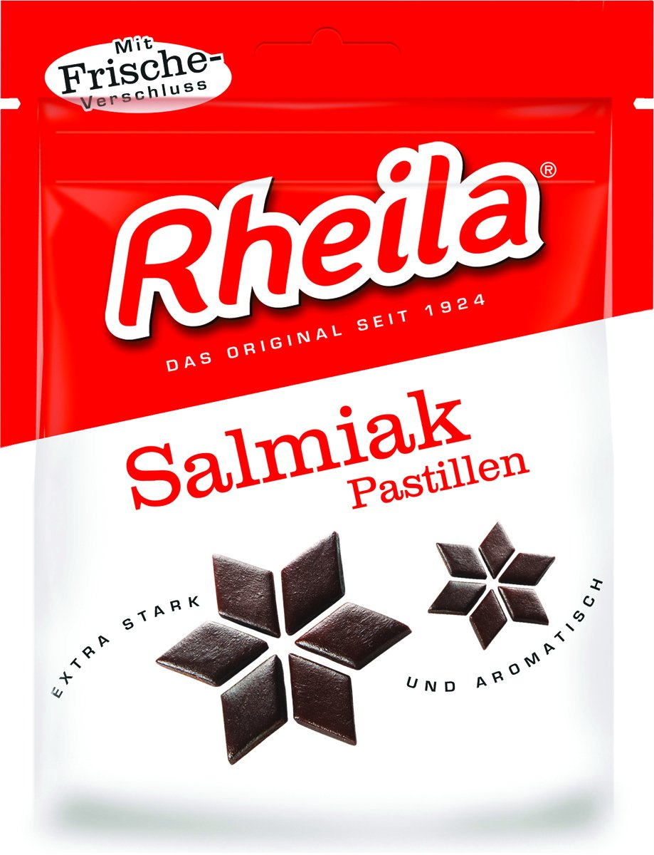 Rheila Salmiak Pastillen, 3.15 Ounce (Pack of 20)