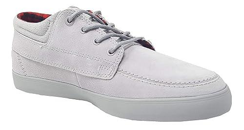 133721c3ec4687 Converse Men s Sea Star LS Mid Smoke Gray Flannel Skateboarding Shoes  148366C (11.0)