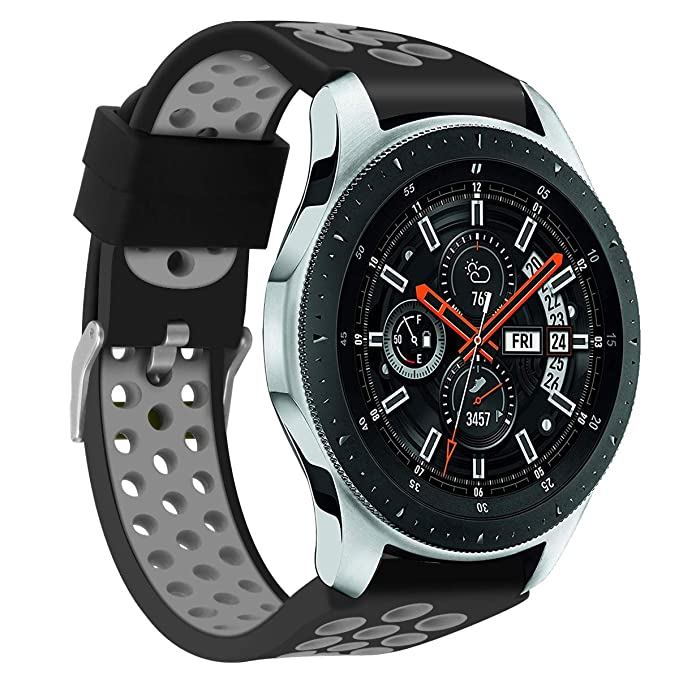 Tabcover for Galaxy Watch 46mm Correa,22mm Quick Release Soft ...