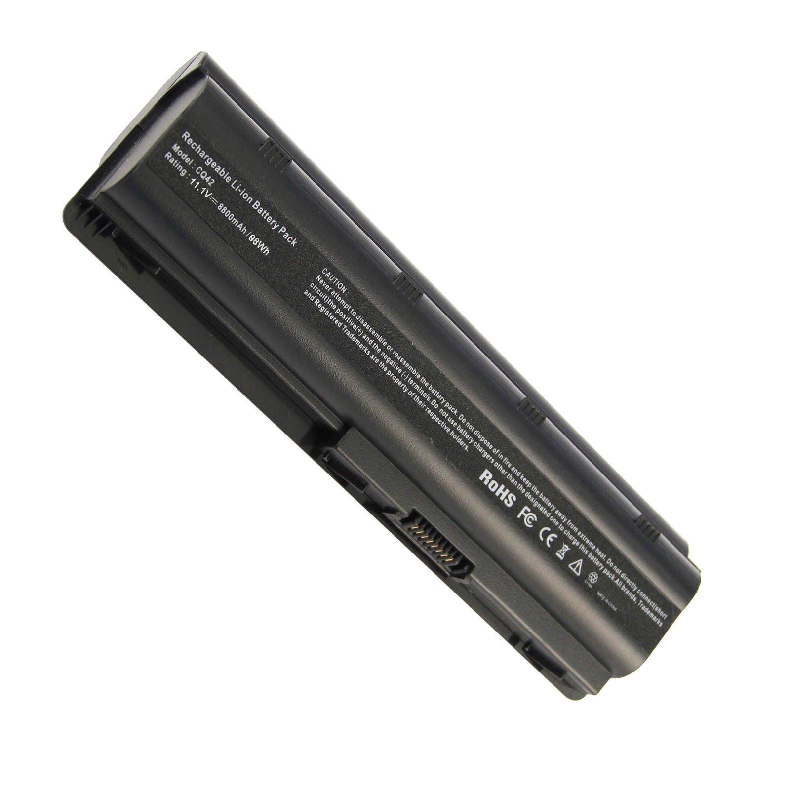 Bateria 8800mah 12 Celdas Para Hp Mu06 Mu09 593553-001 G62 G32 G42 G42t G56 G72 G4 G6 G6t G7 Compaq Presaio Cq32 Cq42 Cq