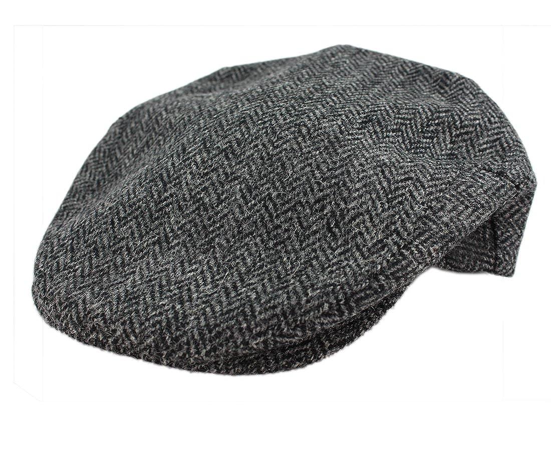 c1ebbd9e2e8 John Hanly Men s Irish Hat Wool Grey Herringbone Made in Ireland at Amazon  Men s Clothing store