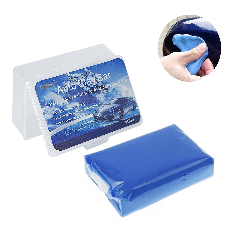 Oddis Car Clay Bar, 160g Professional Auto Detailing Magic Claybar Cleaner for Cars Trucks Auto Vehicles Motorbikes