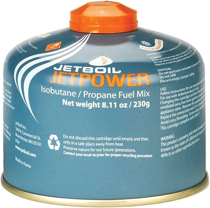 Jetboil Jetpower Gas Canister 230g by Jetboil