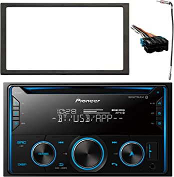 pioneer car stereo radio wiring amazon com pioneer double din bluetooth mixtrax cd player car  pioneer double din bluetooth mixtrax cd