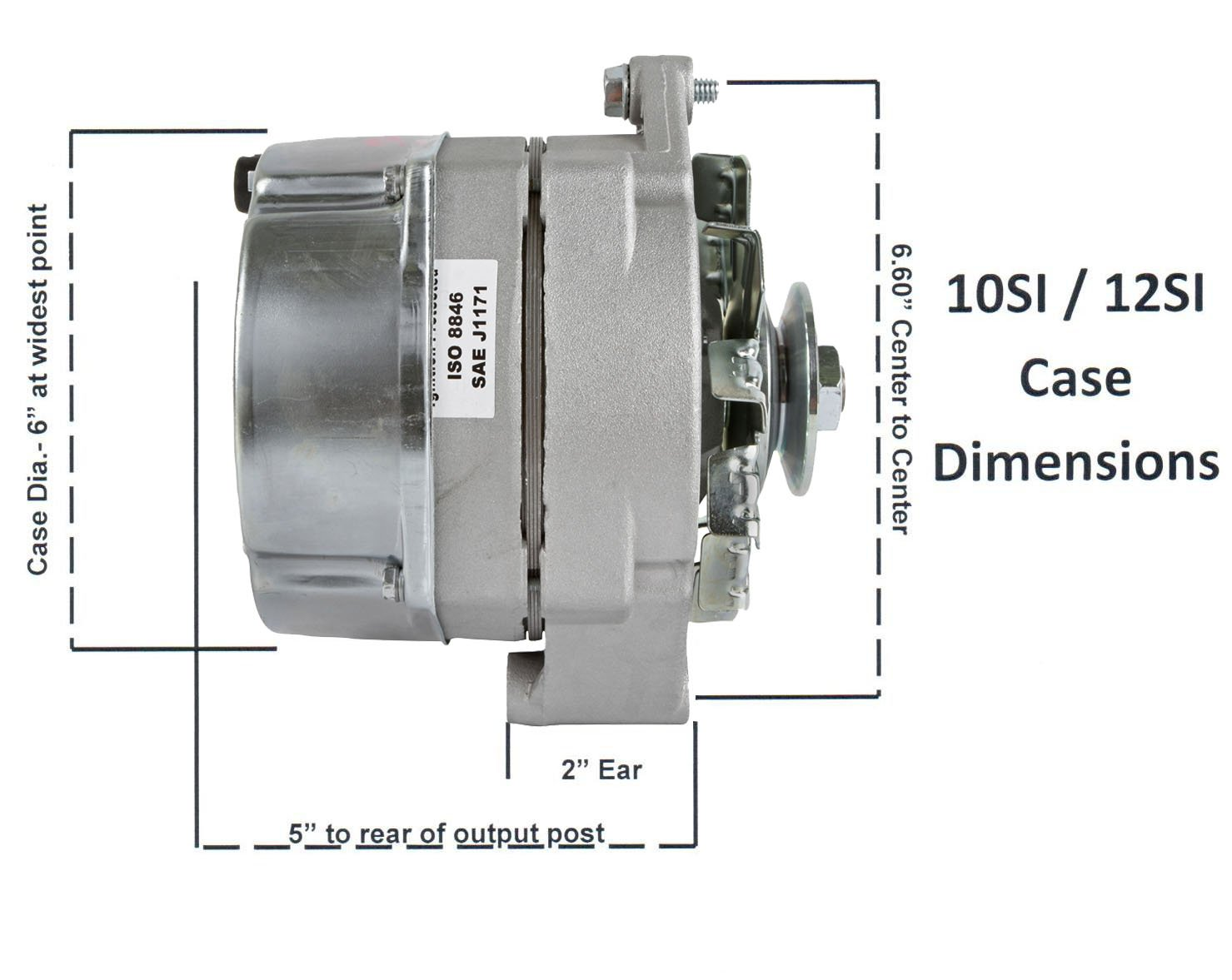 Db Electrical Ho Adr0334 With Tach Wire Alternator For 5 0 Mercruiser Tachometer Wiring 105 Amp Delco Marine 1 Included Automotive