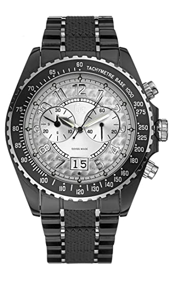 Guess Collection Sport Class 46001G1 - Reloj de mujer de cuarzo, correa de acero inoxidable