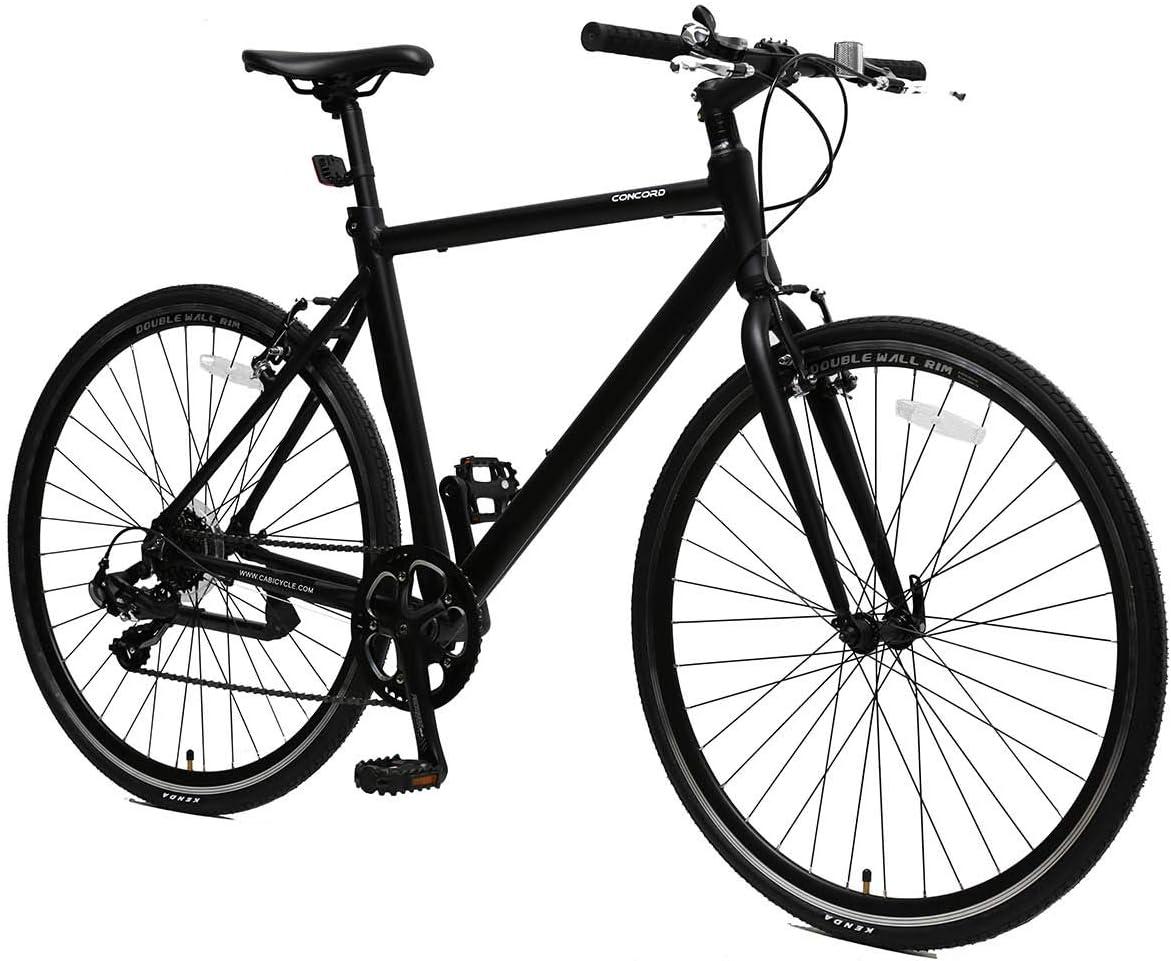 700C Light Weight Aluminium Hybrid Bike 7 Speed Bicycle