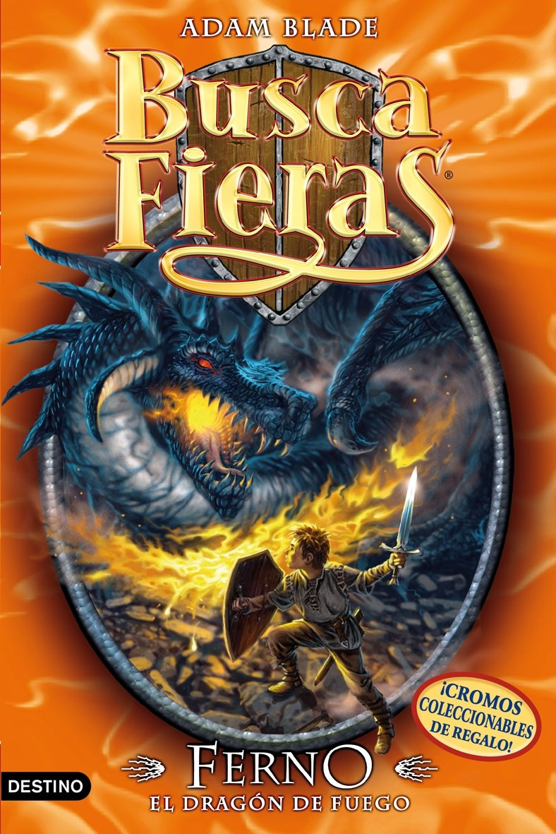 Buscafieras 1. Ferno, el dragon de fuego pdf
