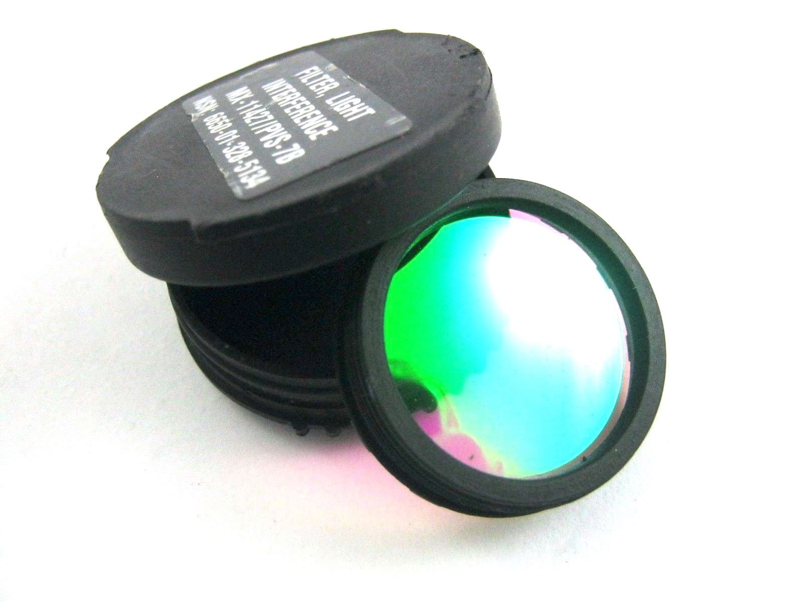 Night Vision Goggle Light Interference Filter (LIF), Night Vision Lens for PVS 14 & 7 by Anvis