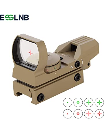 Riflescopes Hunting Optics Hot Sale Red Dot Sigh Style Red Dot Sight With Switch For 20mm Picatinny Rail With Hunting Airsoft M4 Ak G36 M1911 Glock Rail