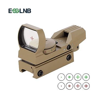ESSLNB Reflex Sight Red Dot Sight Scope 4 Reticles