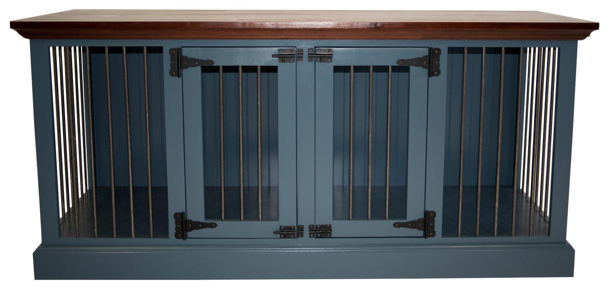 Eagle Furniture Manufacturing K9SD-302364-TTCR K9 Crate, Tempting Turquoise by Eagle Furniture Manufacturing
