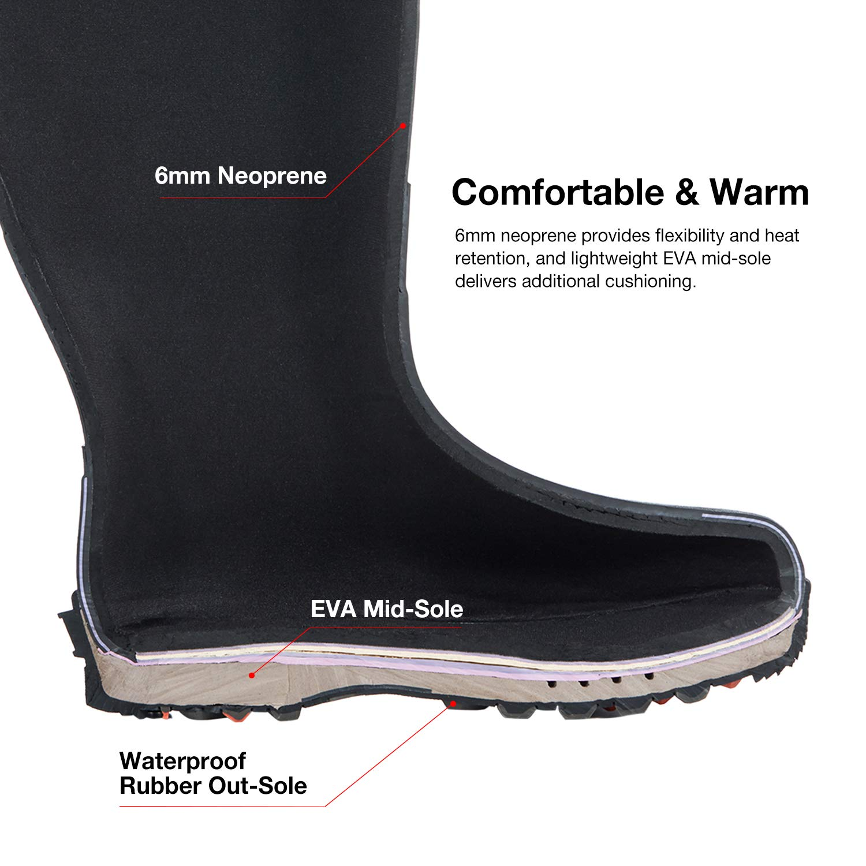 Whg Tidewe Hunting Boot For Men Insulated Waterproof